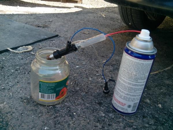 Как снять и почистить форсунки на ВАЗ 2110