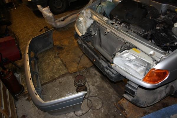 Как снять и заменить передний бампер на ВАЗ 2114 (видео)