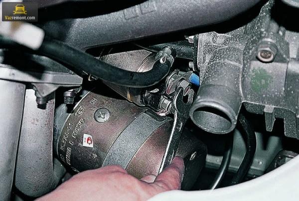 Расположение реле стартера ВАЗ 2110, его замена и диагностика