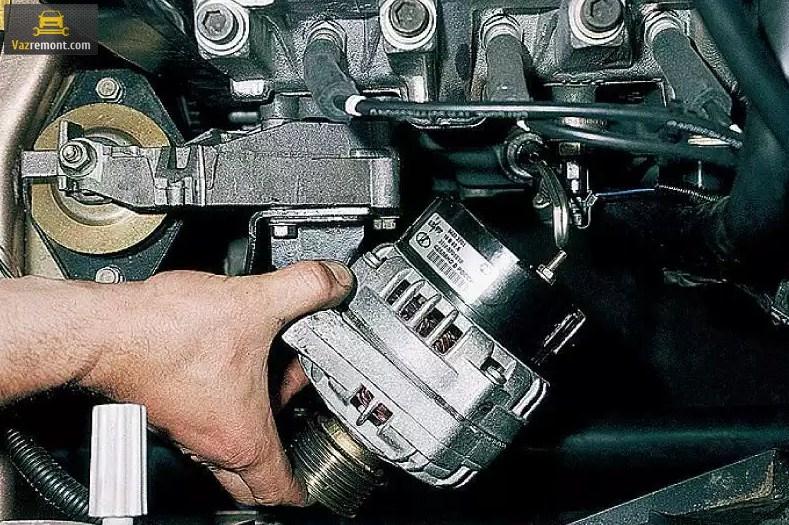 Ремонт, устройство, замена генератора ВАЗ 2110, признаки неисправности
