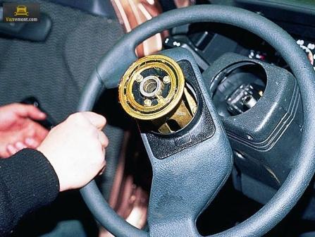 Рулевое управление ВАЗ 2110: диагностика неисправностей, замена наконечников и рулевых тяг