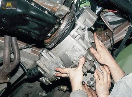 Снятие, ремонт коробки передач (КПП) ВАЗ 2110