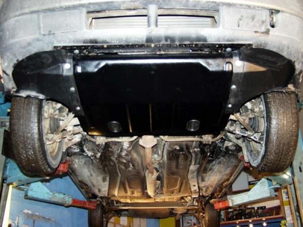 Установка защиты двигателя на ВАЗ 2109