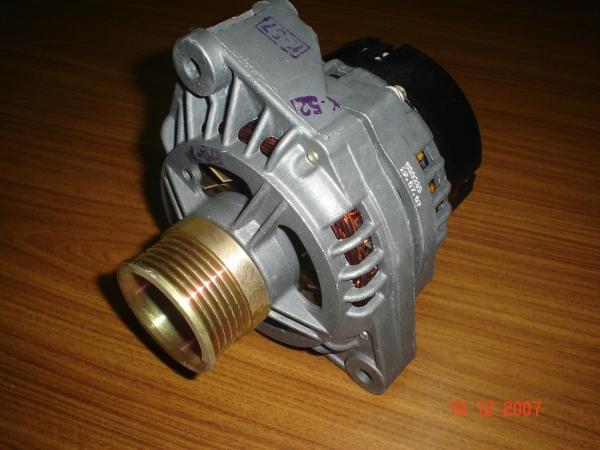 Устройство генератора на ВАЗ 2110 (Схема)