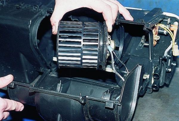 Замена мотора печки на ВАЗ 2110