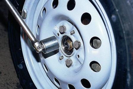 Замена переднего и заднего ступичного подшипника ВАЗ 2110
