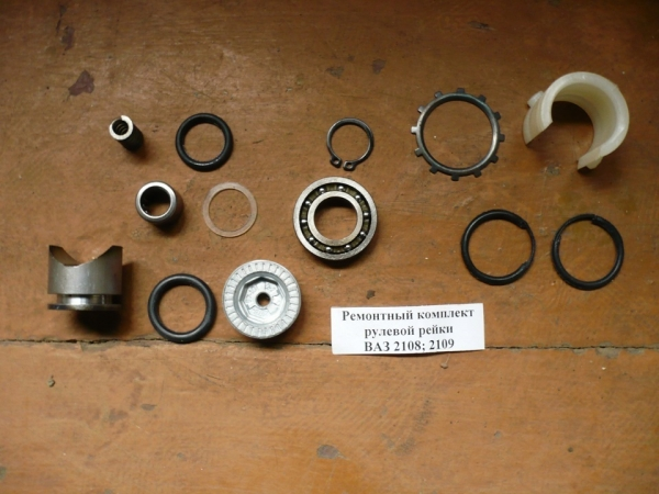 Замена рулевой рейки на ВАЗ 2109