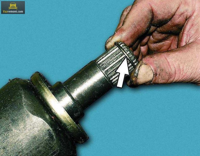Замена шруса на ВАЗ 2110 своими руками