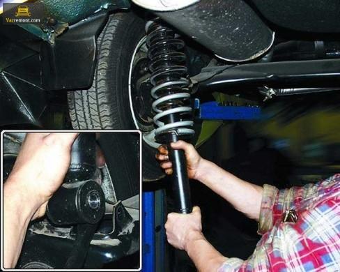 Замена задних и передних стоек ВАЗ 2110. Какие стойки лучше поставить?