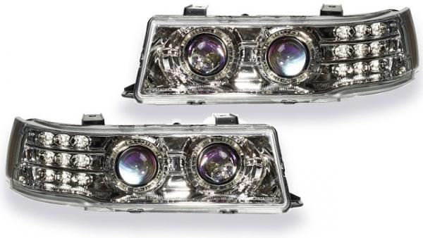 Блок фары на ВАЗ 2110: какие лампы стоят в них?