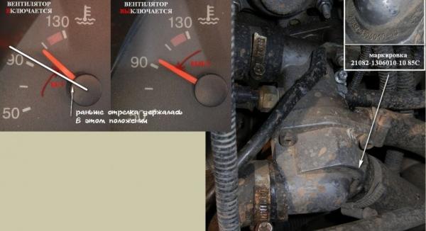 Частые причины перегрева двигателя на ВАЗ 2110