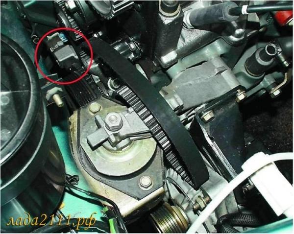 Датчик положения коленчатого вала на ВАЗ 2110: как проверить?