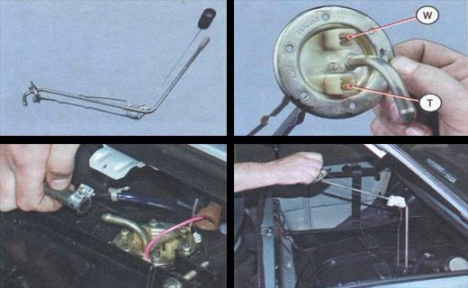Датчик топлива на ВАЗ 2110: замена своими руками