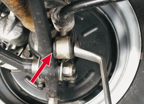 Инструкци по замене стоек стабилизатора на ВАЗ 2114