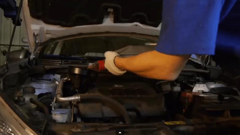 Инструкция замены масла без смены вида масла на Nissan