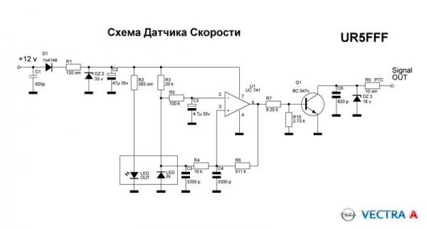 Как проверить датчик скорости/спидометра на ВАЗ 2110 и где он находится