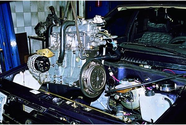 Как снять двигатель на ВАЗ 2109 не снимая КПП (Видео)