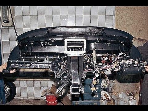 Как снять панель на ВАЗ 2110