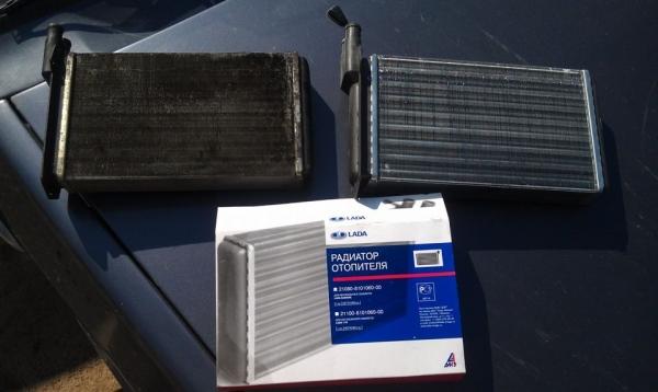 Как снять радиатор печки на ВАЗ 2114