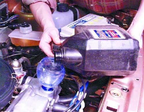 Объем масла в двигателе на ВАЗ 2109
