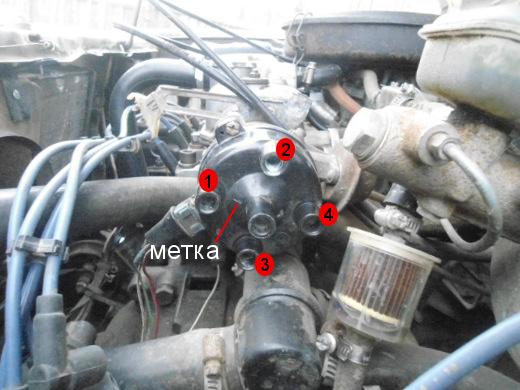 Порядок подключения высоковольтных проводов на ВАЗ 2109 (карбюратор, инжектор)