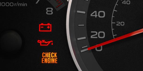 Появился значок check engine: причины