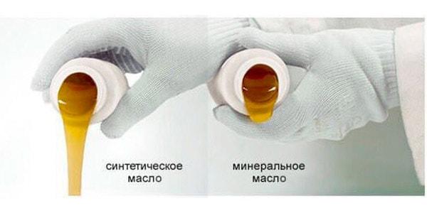 Преимущества минерального масла