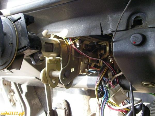 Принцип установки электроусилителя руля на ВАЗ 2110
