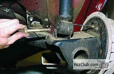 Ремонт подвески ВАЗ 2114 своими руками