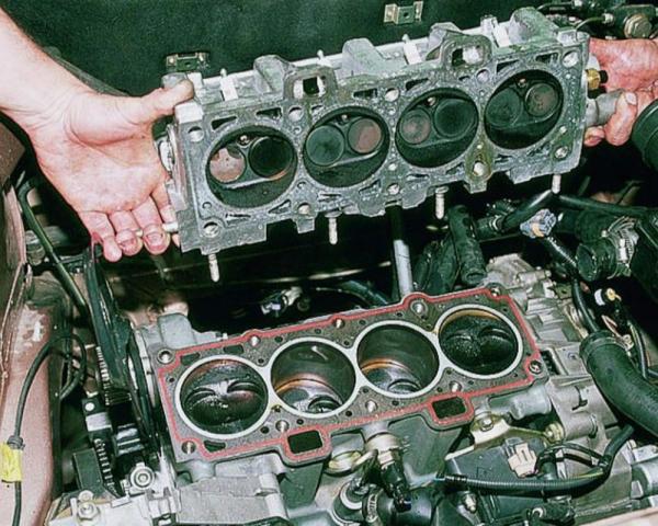 Самостоятельная замена прокладки головки блока цилиндров на ВАЗ 2114