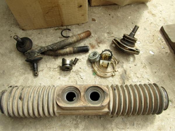 Самостоятельная замена рулевой рейки и ее пыльников на ВАЗ 2114