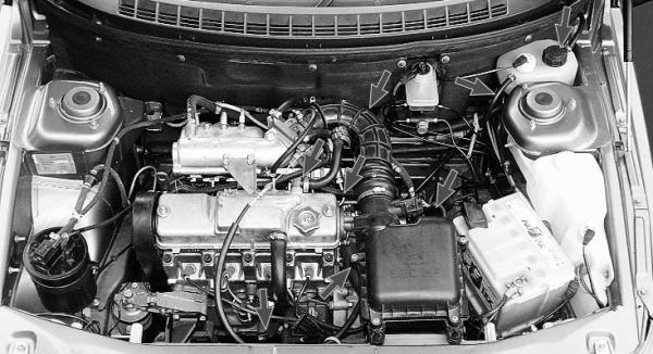 Система охлаждения на ВАЗ 2110 инжектор (8 и 16 клапанов)