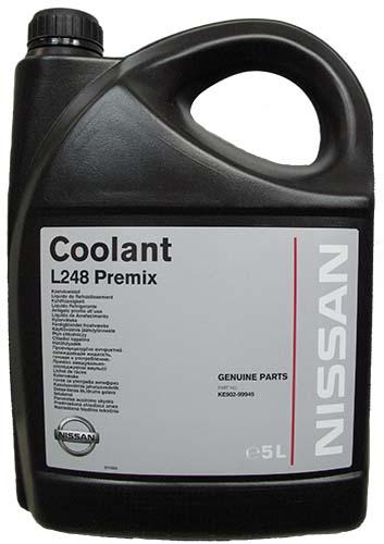 Система охлаждения в автомобилях Nissan