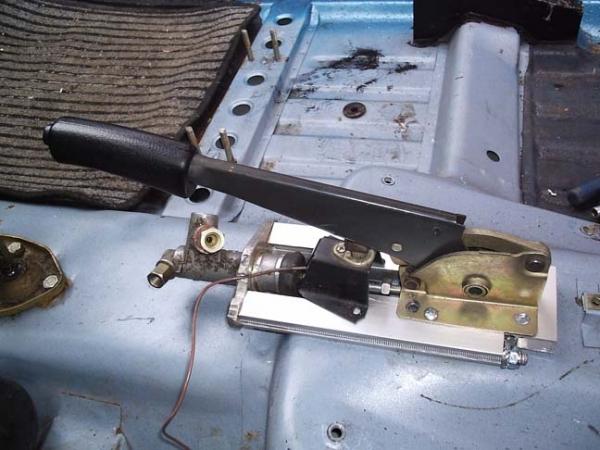 Система ручного (стояночного) тормоза на ВАЗ 2110