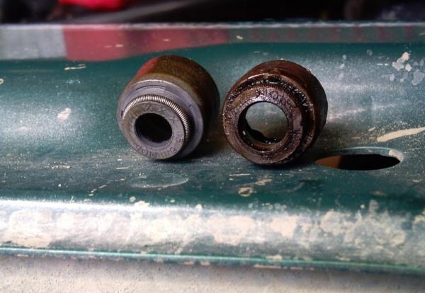 Способы замены маслосъемных колпачков на ВАЗ 2109