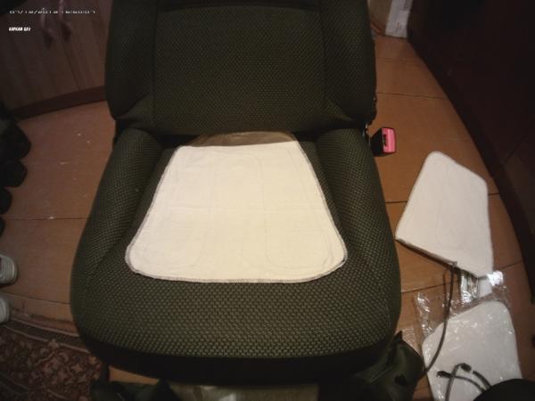 Установка подогрева сидений в ВАЗ 2110