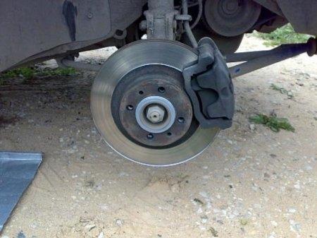 Установка вентилируемых тормозных дисков на ВАЗ 2114