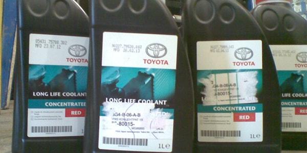 Выбор антифриза на Toyota Corolla