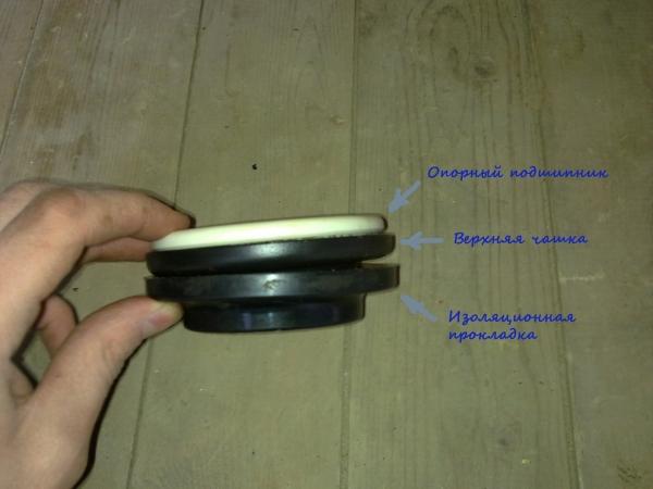 Замена опорного подшипника на ВАЗ 2114 своими руками