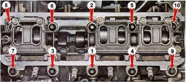 Замена прокладки ГБЦ на ВАЗ 2110 (8 и 16 клапанов)