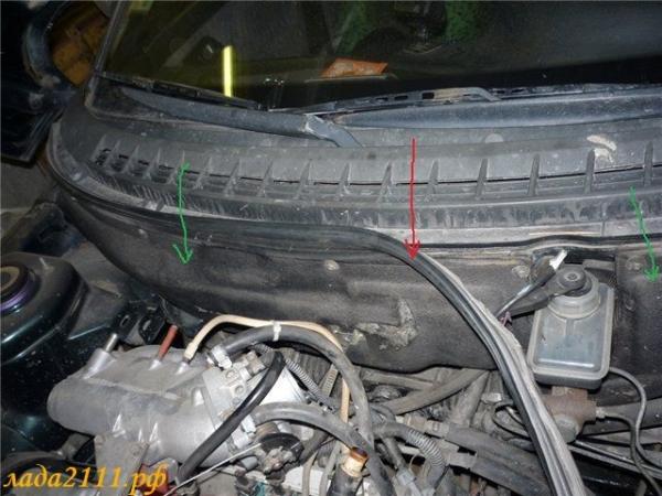 Замена радиатора отопителя ВАЗ 2110: старого или нового образца устанавливать?