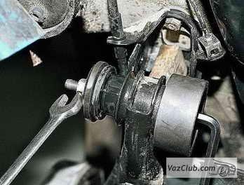 Замена сайлентблоков задней балки на ВАЗ 2110 своими руками