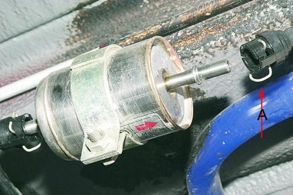 Замена топливного фильтра на ВАЗ 2114
