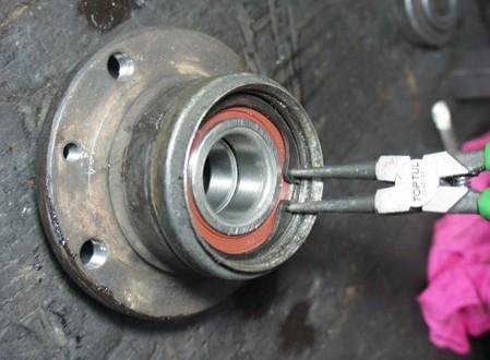 Замена заднего ступичного подшипника на ВАЗ 2109
