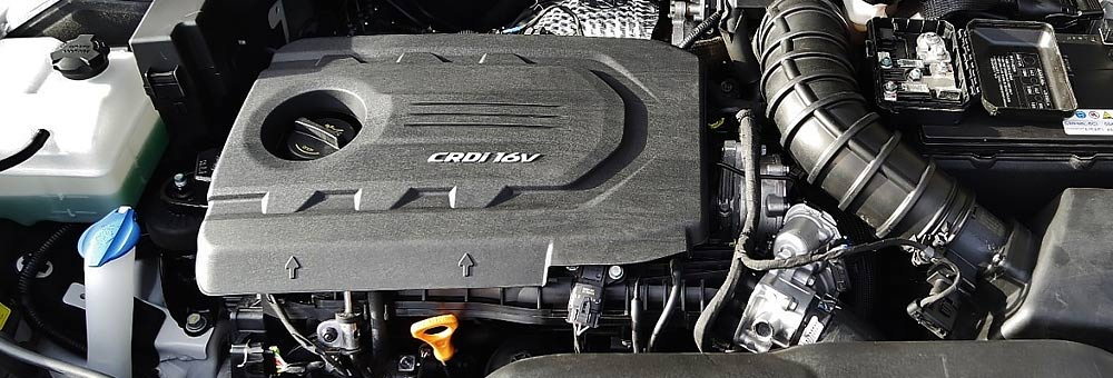 CRDi двигатель автомобиля