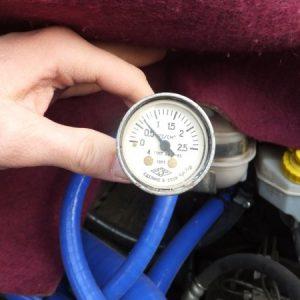 Давление в системе охлаждения двигателя автомобиля