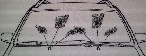 Как отрегулировать форсунки омывателя лобового стекла