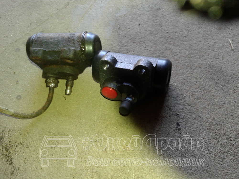 Как заменить тормозной цилиндр Peugeot 309