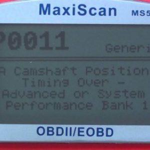 Ошибка P0011 – неправильное положение распредвала