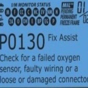 Ошибка P0130 – низкое напряжение в цепи датчика кислорода
